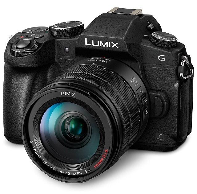 Panasonic LUMIX G81 mit 14-140 Kitobjektiv