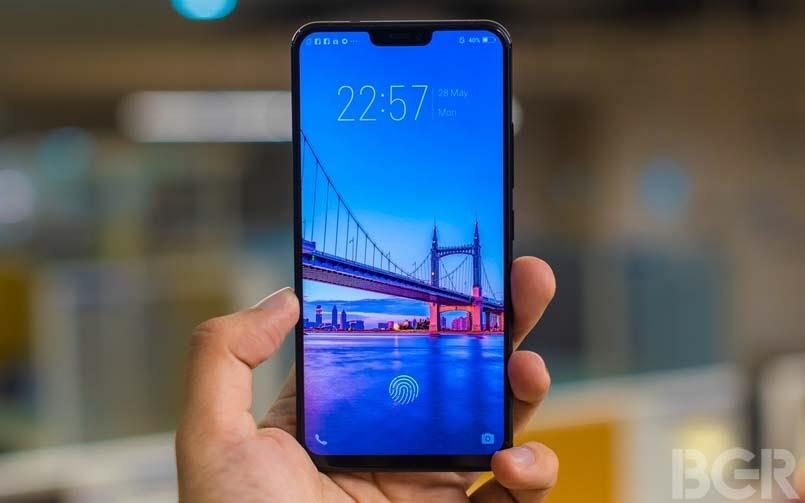 Vivo X21 - Erstes Handy mit Fingerabdrucksensor im Display