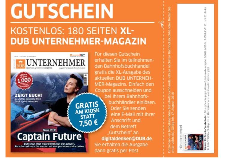 DUB Unternehmer-Magazin kostenlos