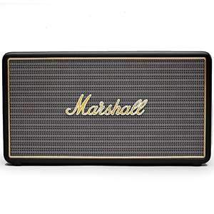 Marshall Stockwell (schwarz) - Bluetooth-Lautsprecher (27W RMS, Bluetooth 4.0, AUX-In, Akku, USB-Ladefunktion) [nbb]