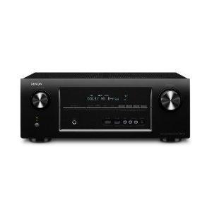 Denon AVR 2313 7.1 AV-Receiver (6 HDMI mit 3D, 4K, Airplay, Spotify, Internetradio, Netzwerk, USB, 7x 135 Watt) schwarz