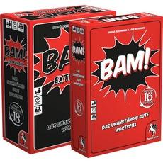 (alternate.de)Trinkspiel/Partyspiel Pegasus BAM! + BAM! Extrahart Bundle (11,94€ MASTERPASS!)