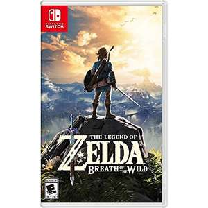 The Legend of Zelda: Breath of the Wild (Switch & Wii U Download) für je 38,82€ (Amazon US)