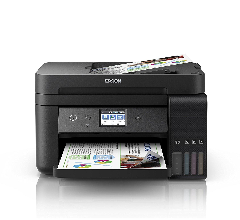 Epson EcoTank ET-4750 für 349€ - Tintenstrahl-Multifunktionsgerät A4, 4-in-1, Drucker,Kopierer,Scanner,Fax, LAN, Tintentanksystem