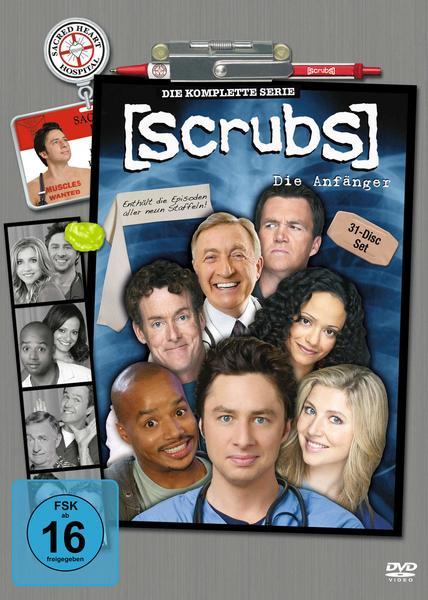 Scrubs Komplettbox Staffel 1-9 (DVD) für 28,79€ (Thalia)