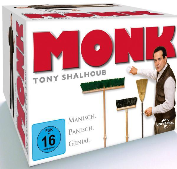 Monk - Die komplette Serie (32 Discs DVD) für 27,99€ (Thalia)