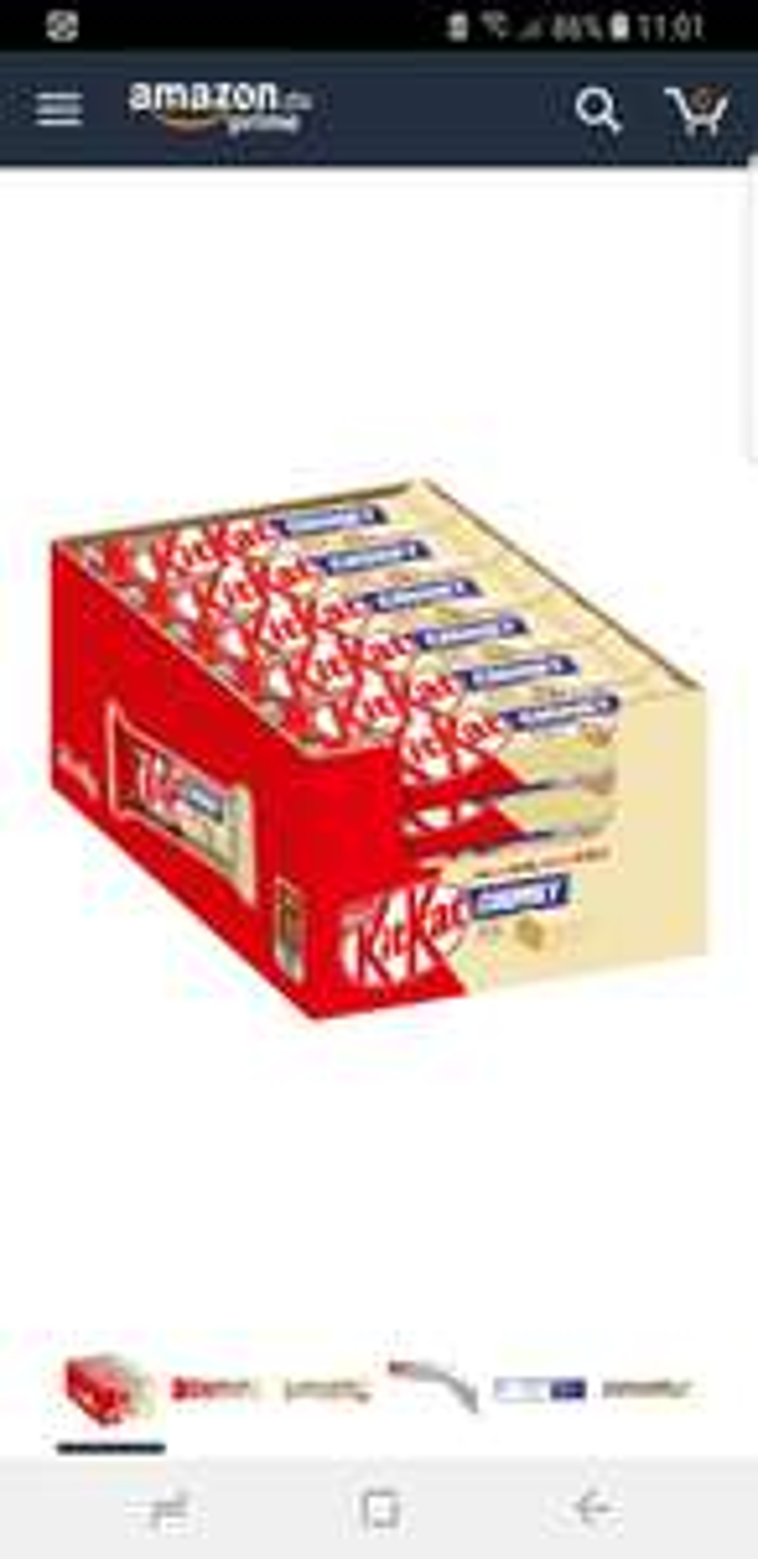 Nestle KitKat Chunky White Schoko-Riegel