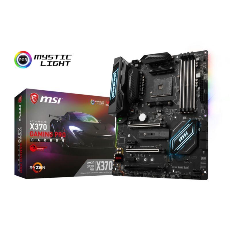 [Cyberport] MSI X370 Gaming Pro Carbon SATA600/R/M.2/USB3.1 ATX Mainboard Sockel AM4