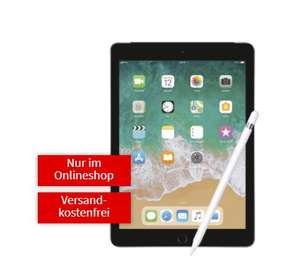 MediaMarkt: APPLE iPad 2018 32GB + Pencil mit MD Vodafone 5GB Datentarif 69€ / ohne Pencil 1€ Zuzahlung