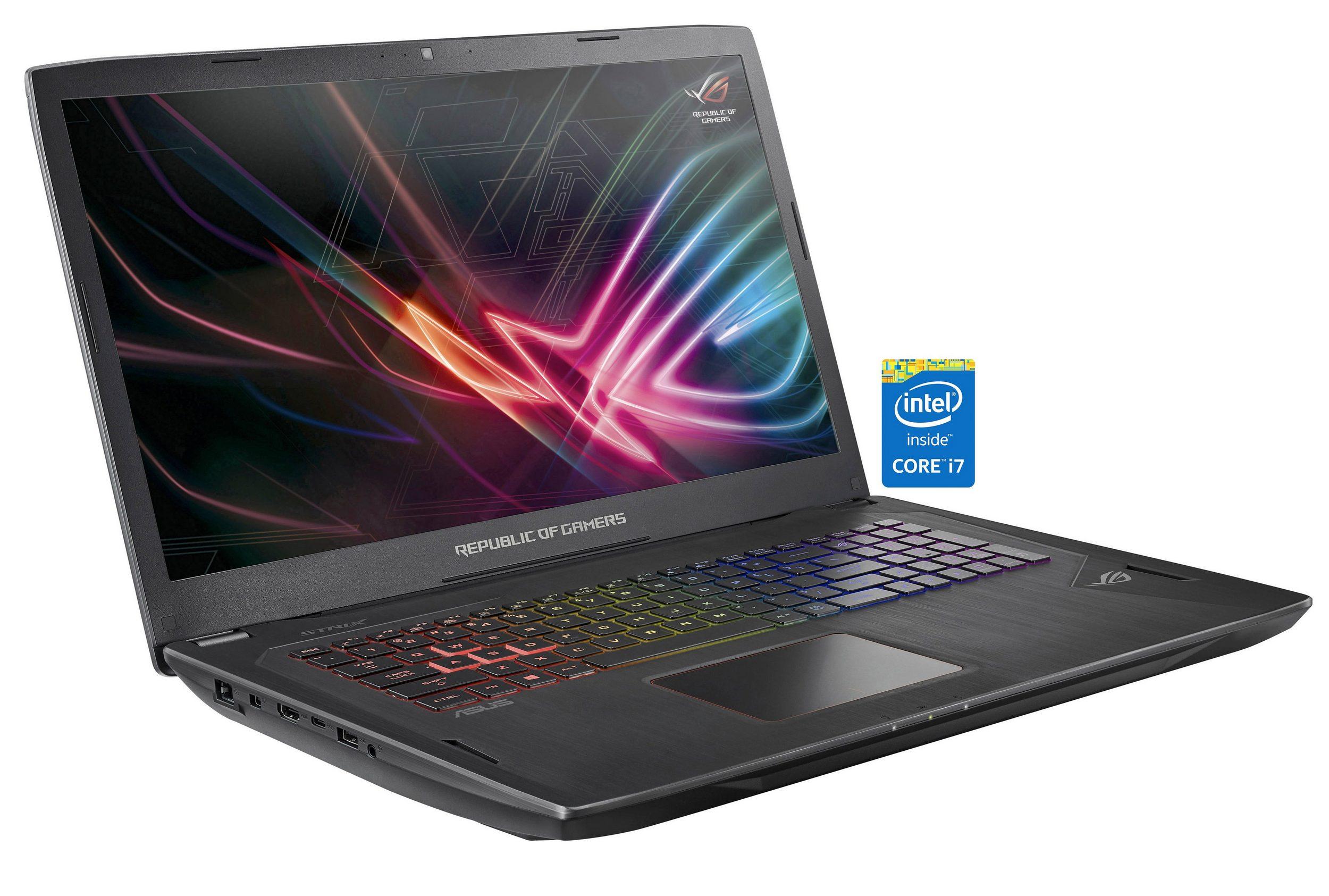 "ASUS GL702VI-BA007T Gaming Notebook 17,3"" FHD 120Hz G-Sync, i7-7700HQ, 16GB RAM, 1TB HDD + 256GB M.2 SSD, GTX 1080, Win10 ( für 1511 / 1532 EUR möglich durch Neu-/Bestandskundenrabatt)  [Otto]"