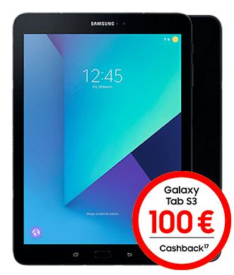 Samsung Galaxy Tab S3 LTE im o2 My Data M mit 10 GB LTE (eff. mit Gewinn bei Tabletverkauf)
