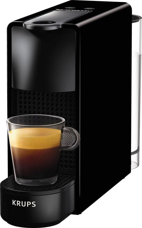 [ao.de] Krups Nespresso XN1108 Essenza Mini Kaffeekapselmaschine (1260 Watt, Thermoblock-Heizsystem, 0,7 Liter, 19 bar) in schwarz oder weiss für 64 € + 60 € Nespresso Kaffeeguthaben = effektiv für 9 €