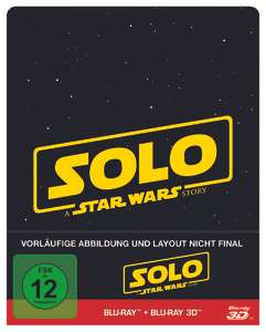 Solo: A Star Wars Story - 3D - Limited Edition für 23,19 EUR / Avengers: Infinity War 3D LE und Black Panther - Steelbook (+ Blu-ray 2D) Limited Edition für je 23,99 EUR (Thalia)