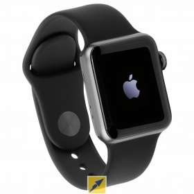 Apple Watch Series 3 38mm space grey GPS Sport Band black (und andere Farben)