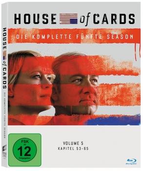 House of Cards - Die komplette fünfte Season (4 Discs Blu-ray) für 19,93€ (Alphamovies)