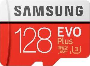 Samsung Evo Plus microSD mit 128GB U3 für 28,51€ [Mymemory]