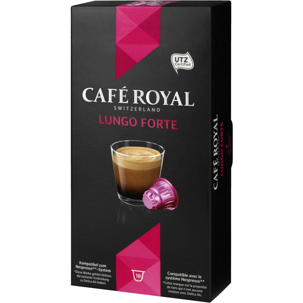 [ebay] Café Royal Lungo Forte (Nespresso-kompatibel), 10 Kapseln