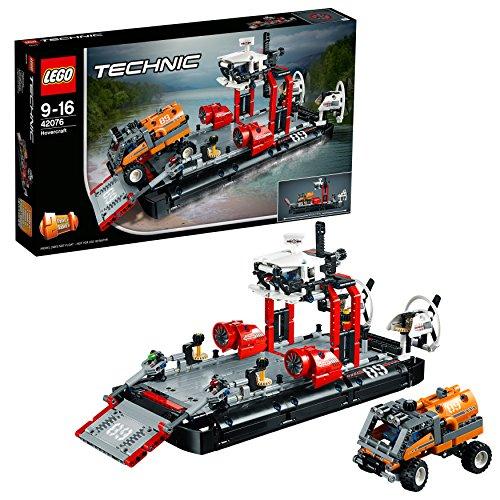 [Amazon Prime] LEGO Technic 42076 - Luftkissenboot, Set für geübte Baumeister