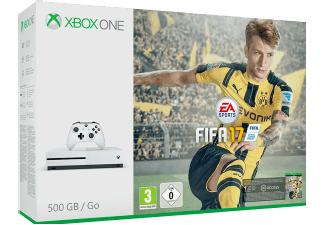 MICROSOFT Xbox One S 500GB Konsole - FIFA 17 Bundle Staurn.de