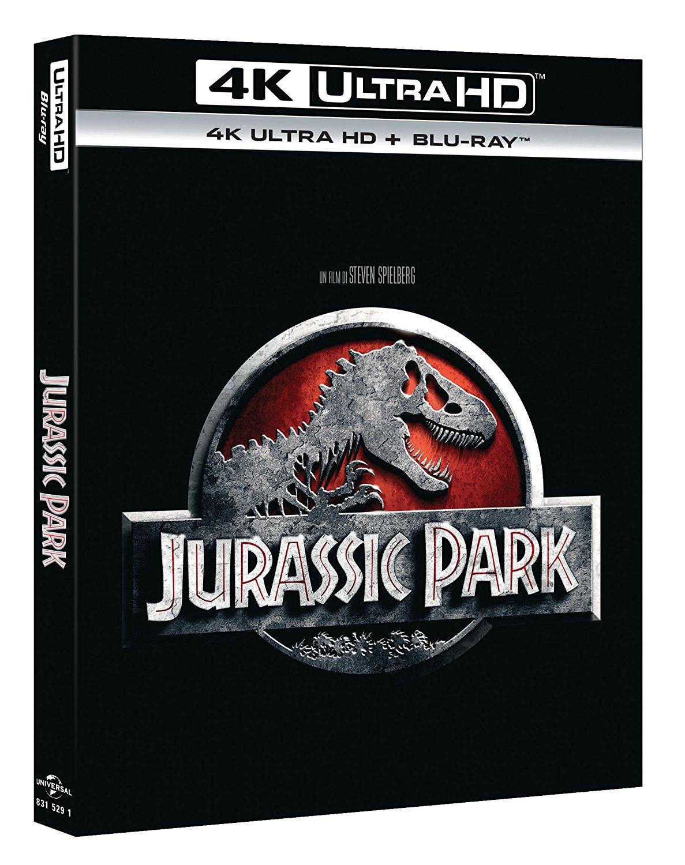 Jurassic Park 1-4 UHD + BD  + Gladiator UHD+ BD fur 58,91