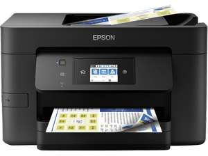 EPSON WorkForce Pro WF-3725DWF, 4-in-1 Multifunktionsdrucker (6,8 cm Touchscreen, NFC, Wi-Fi, Wi-Fi Direct) für 79€ versandkostenfrei (Media Markt)