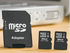 Kaufland : 2x 16GB microSD-HC Class 4 zusammen 12,99€
