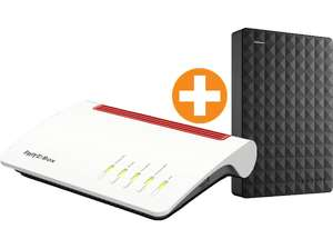 AVM Fritz!Box 7590 + Seagate Expansion Portable 1TB für 204€ inkl. Versand nach DE [Saturn.at]