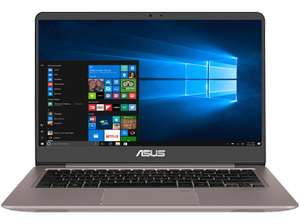 ASUS UX3410UQ-GV101T, Notebook mit 14 Zoll Display, Core™ i5 Prozessor, 8 GB RAM, 1 TB HDD, 256 GB SSD, GeForce 940MX, Quartz Gray