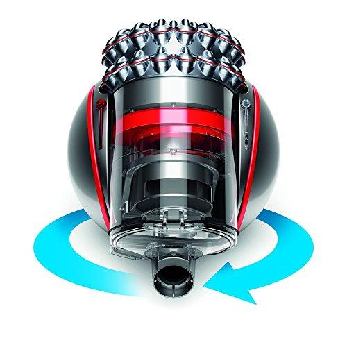 Dyson Cinetic Big Ball Animalpro 2 beutelloser Staubsauger | Inkl. pneumatischer-, Turbinen Carbonfaser-, Turbinen Tangle-free-, Treppen-Boden-Düse | Anspruchsvolle Reinigung ohne Saugkraftverlust [Energieklasse A