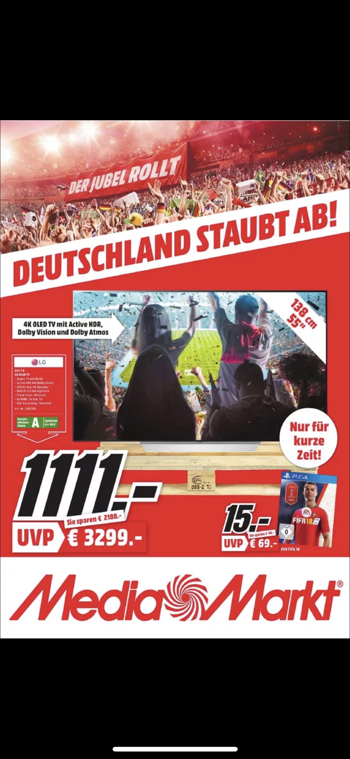 [Lokal Mediamarkt Raum Frankfurt] LG OLED 55C7D
