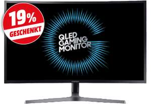 [Media Markt] Samsung C32HG70  - 31.5 Zoll WQHD Curved Gaming Monitor (2560x1440, 350cd/m², 1ms, VA, Quantum Dot, HDR, 8bit+FRC, 125% sRGB, AMD FreeSync 2, 144 Hz, HDMI / DP, VESA)