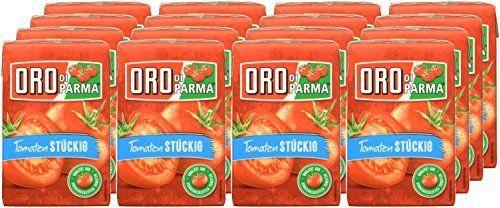 (Amazon Prime) ORO di Parma Tomaten stückig, 16er Pack (16 x 400 g)