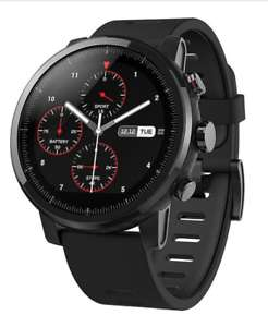 Xiaomi Amazfit Stratos Smartwatch schwarz GLOBAL VERSION - ebay