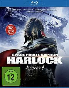 Space Pirate Captain Harlock (3D Blu-ray + 2D) für 7,99€ (Amazon Prime & Saturn)