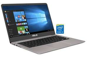 "Asus UX3410UA Zenbook: 14"" FHD IPS, Intel Core i5-7200U, 1TB HDD + 256GB SSD, Bel. Tastatur, Wlan ac, Aluminium-Gehäuse, Windows 10 für 637,94€ (Neckermann)"