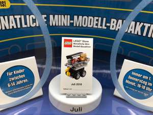 Mini-Modell-Bauaktion am 5. Juli [Lego Store]