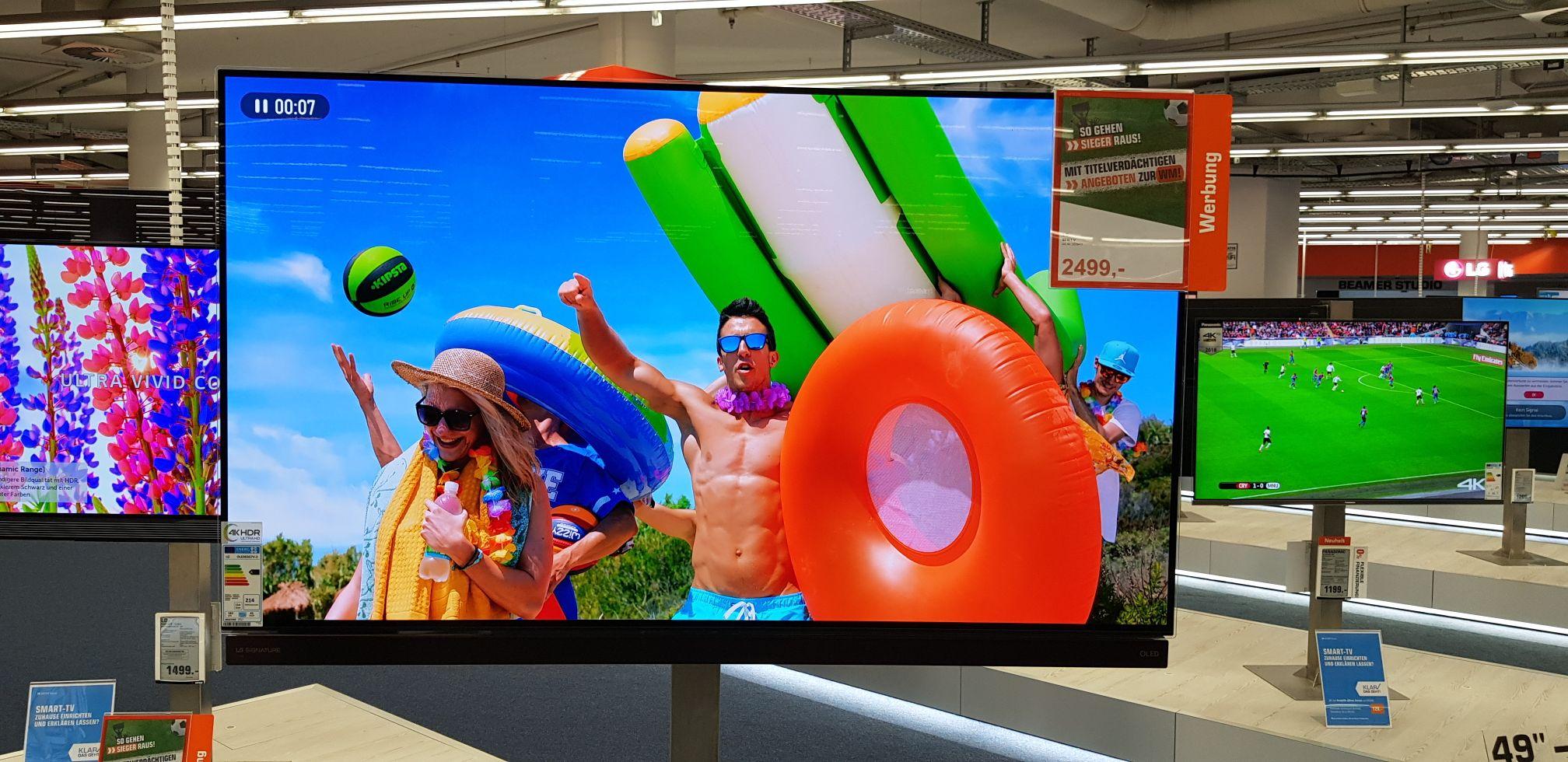 LG 65G7 OLED Tv Deal Saturn