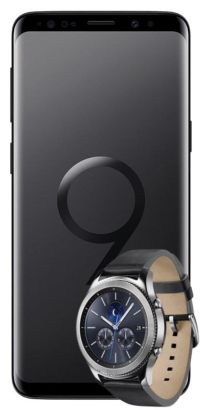 Samsung Galaxy S9 Duos & Samsung Gear S3 Classic mit Mobilcom Comfort Allnet im Vodafone Netz (2 GB bis zu 42,2 Mbit/s)