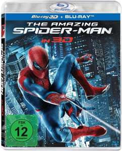 The Amazing Spider-Man (3D Blu-ray + Blu-ray) für 5,81€ (Dodax)