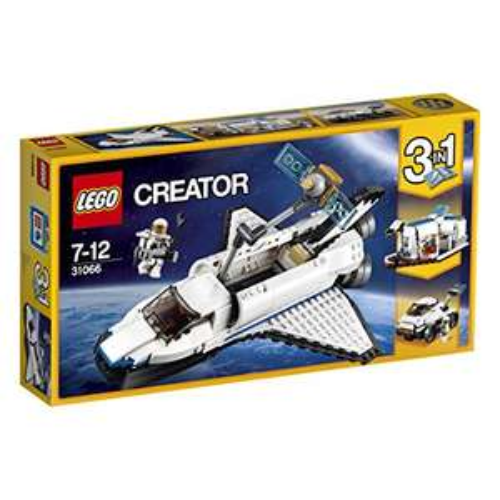 PRIME: Lego Creator 31066 - Forschungs-Spaceshuttle BESTPREIS