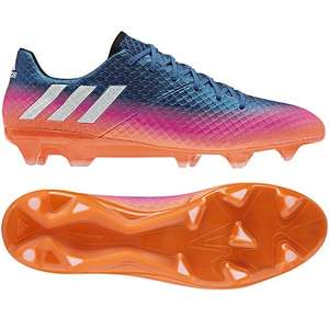 Adidas Messi 16.1 FG in blue / footwear white / solar orange bis Gr. 48 2/3