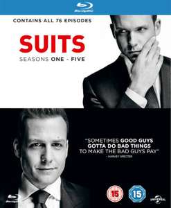 Suits Staffel 1-5 (Blu-ray) für 21,63€ (Zavvi)