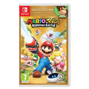 Mario + Rabbids Kingdom Battle (Gold Edition) für die Switch bei Coolshop im Angebot