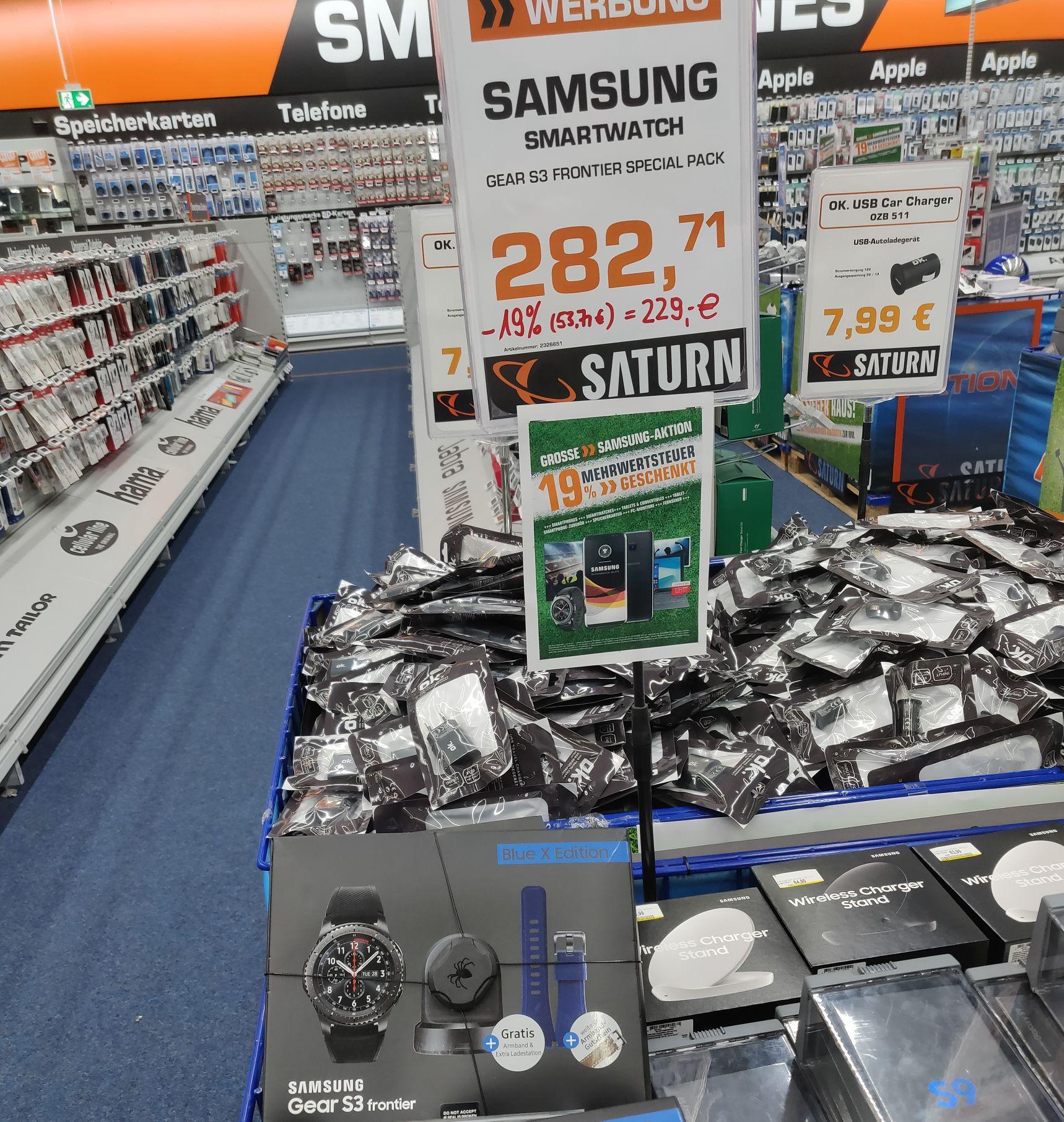 [nur offline] Samsung Gear S3 Frontier Special Pack