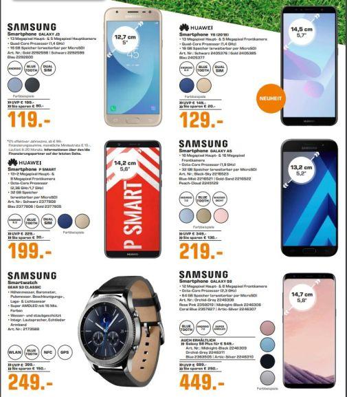 [Regional Saturn Hamburg alle Märkte] Toppreise durch MWST.Aktion wie ZB. Samsung Galaxy S8 für 363,69€ oder Samsung Galaxy S8+ für 444,69€