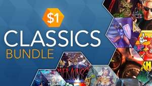 Dollar Classics Bundle - 21 Steam Spiele für 1€ (Fanatical)