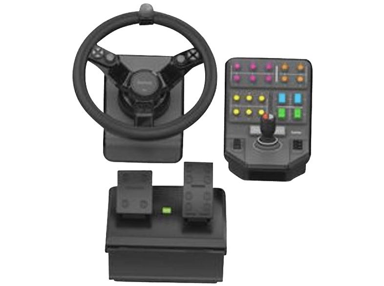 [Mediamarkt] Saitek Landwirtschafts-Simulator Lenkrad + Pedaleinheit + Fahrzeugseitenkontrolle für 111,-€