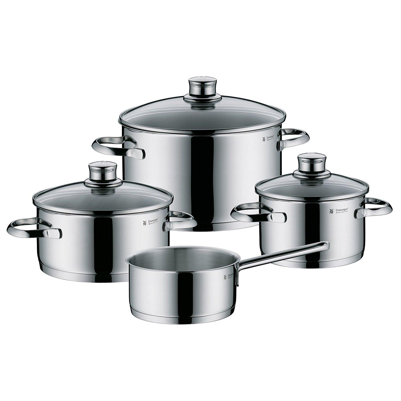 WMF Saphir 4-tlg. Kochgeschirr-Set (Cromargan®) für 79€ bei Media Markt