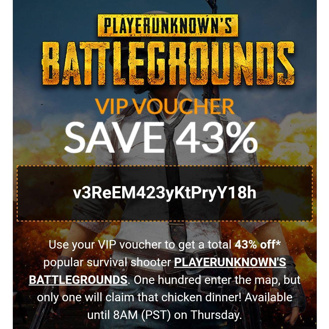 PlayerUnknown's: Battlegrounds (Steam) für 17,00€ (Fanatical)
