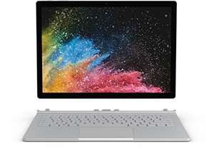 Microsoft Surface Book 2 in 13,5 Zoll mit Intel i7 8650U, 8GB RAM, 256GB SSD